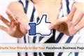 Gửi tin nhắn mời bạn bè like Page Facebook - FPlus