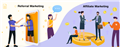 Referral Marketing Và Affiliate Marketing có gì khác biệt?