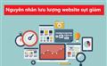 Nguyên nhân nào khiến lưu lượng website bị giảm sút?