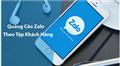 Hướng dẫn cách chạy quảng cáo Zalo hiệu quả bằng tệp số điện thoại