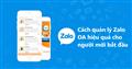 4 cách quản lý cửa hàng Zalo OA hiệu quả cho người mới bắt đầu