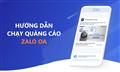 Hướng dẫn cách chạy quảng cáo Zalo OA