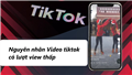 Tiết lộ nguyên nhân khiến video tiktok có lượt view thấp