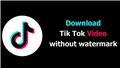 Hướng dẫn tải xuống video tiktok hàng loạt - TikTokPlus