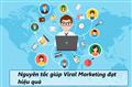 Các nguyên tắc giúp chiến dịch Viral Marketing đạt hiệu cao