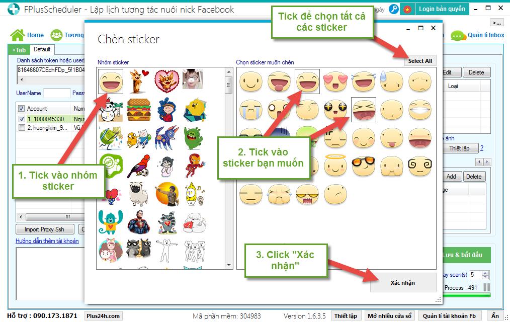 TOP 10 Website và phần mềm auto cảm xúc auto thả tim facebook an toàn miễn phí hiện nay 8
