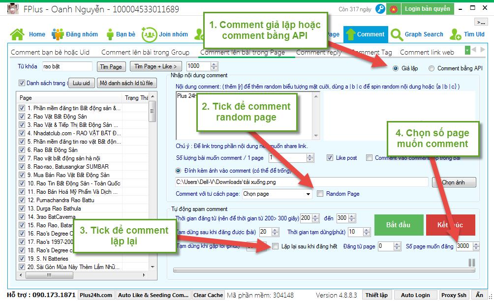 TOP 10 phần mềm tool Auto Comment bài viết Facebook tăng tương tác 6
