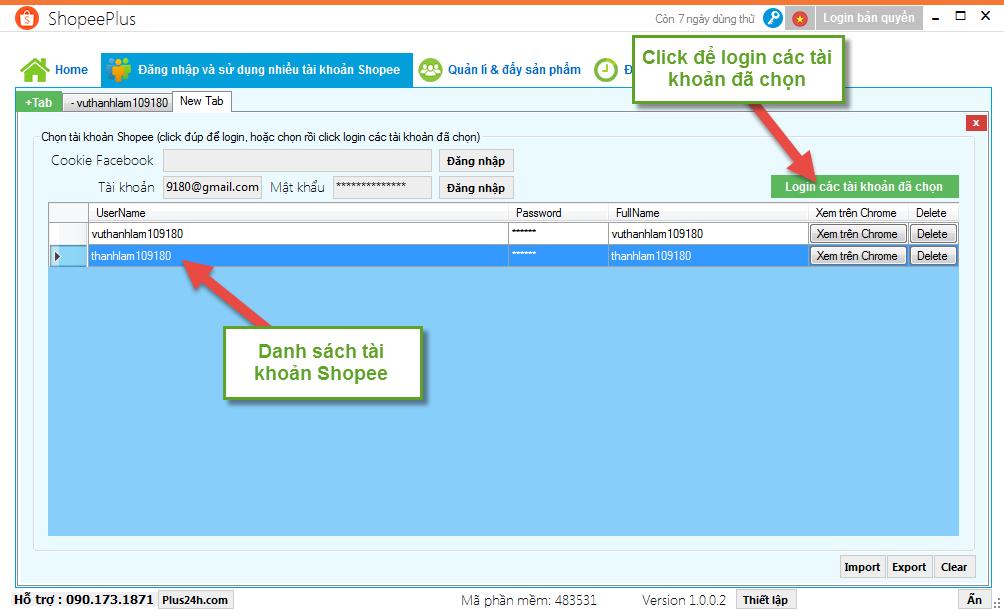 Hướng dẫn đăng nhập và sử dụng nhiều tài khoản Shopee 3