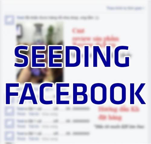 Seeding facebook: Đừng bỏ qua nếu bạn đang bán hàng trên Facebook